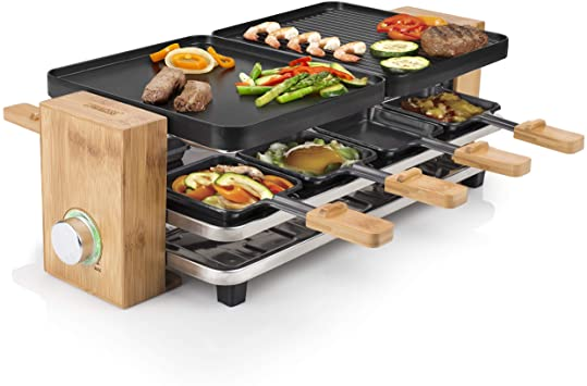 Raclette grill 8 personas